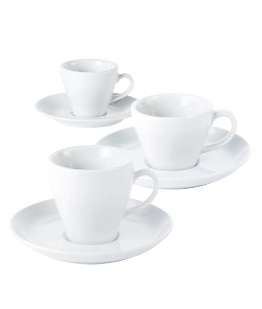 Porcelite Italiano koffie / espressokop 220 ml     6 stuk(s)