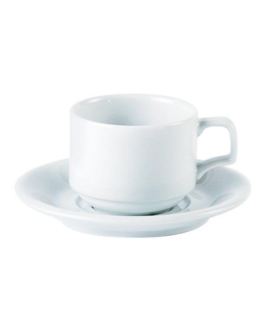 Porcelite Stapelbare koffiekop 200 ml              6 stuk(s)