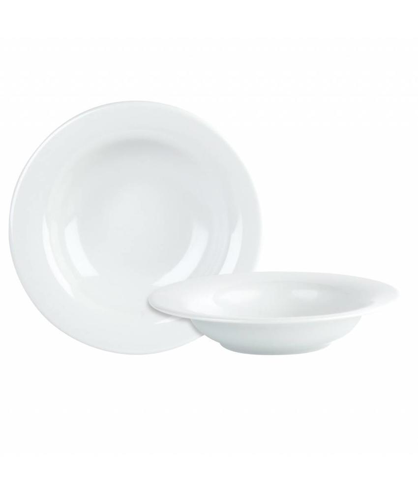 Procelite Banquet Banquet pastabord (lichtgewicht) 25 cm                  6 stuk(s)
