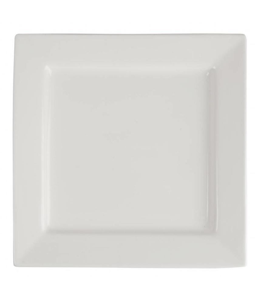 LUMINA Lumina vierkante borden 23,3cm 4 stuks