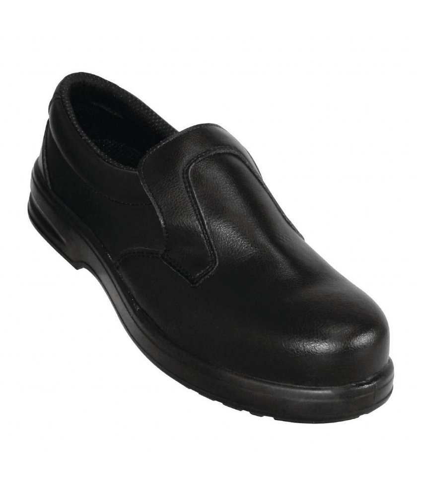 Lites Safety Footwear Lites unisex instappers zwart 43