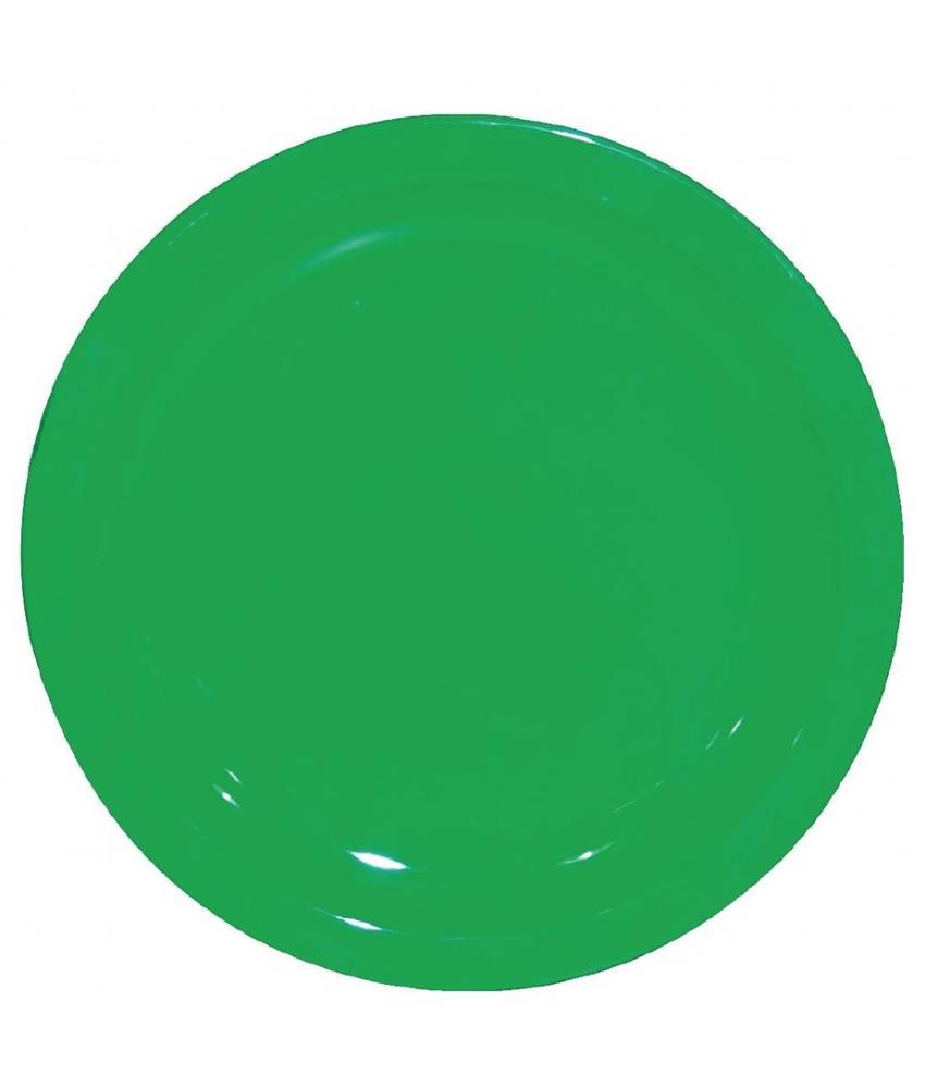 Kristallon Kristallon bord 17cm groen 12 stuks