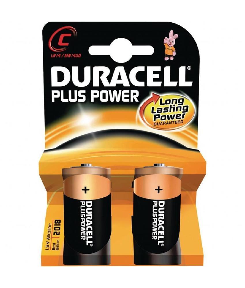DURACELL Duracell C batterijen 2 stuks