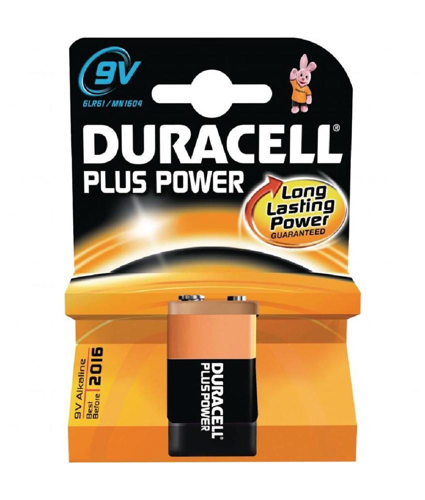 DURACELL Duracell 9V batterijen