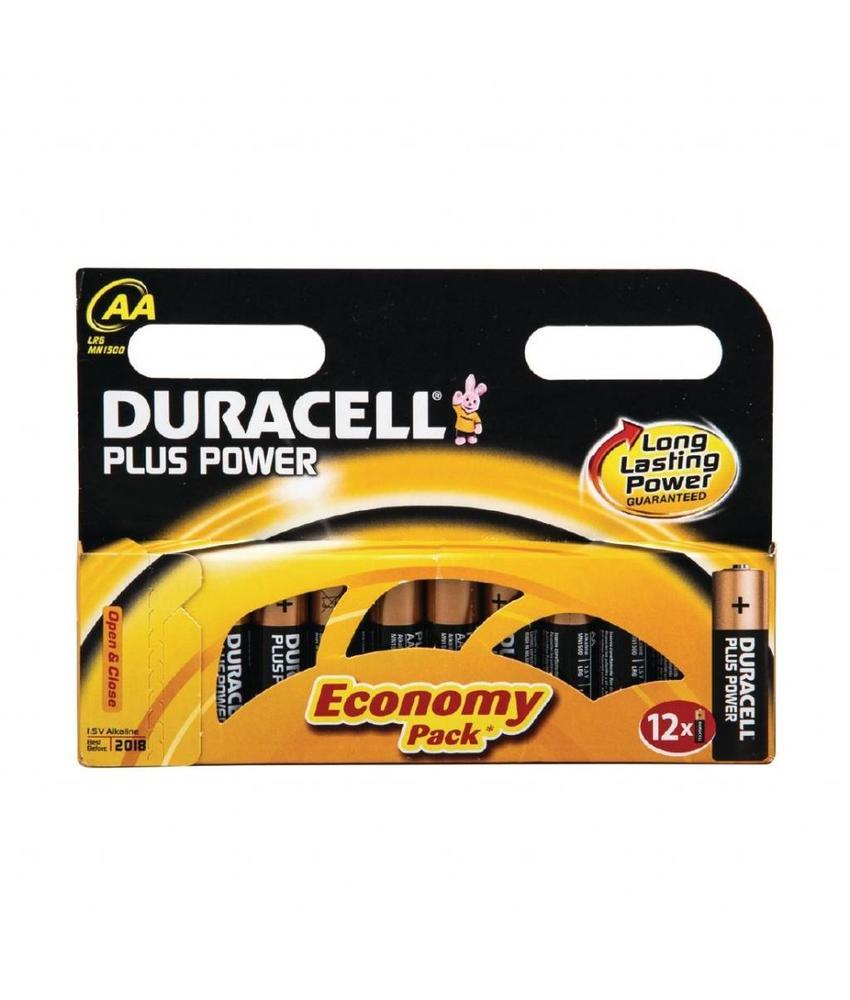 DURACELL Duracell AA batterijen x12 12 stuks