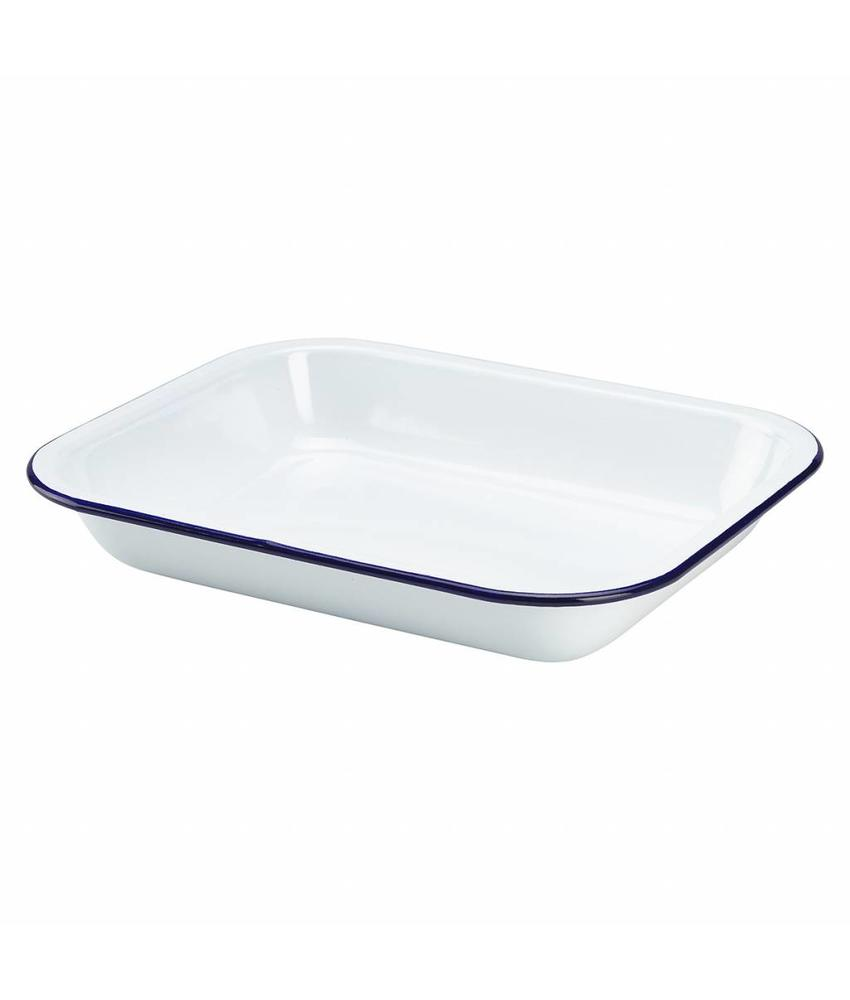 Stylepoint Emaille ovenschaal 28 x 23 x 4,5 cm 6 stuk(s)