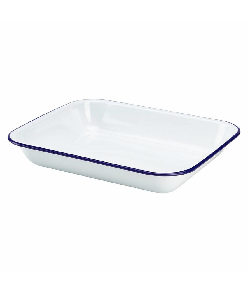Stylepoint Emaille ovenschaal 31 x 25 x 5 cm 6 stuk(s)