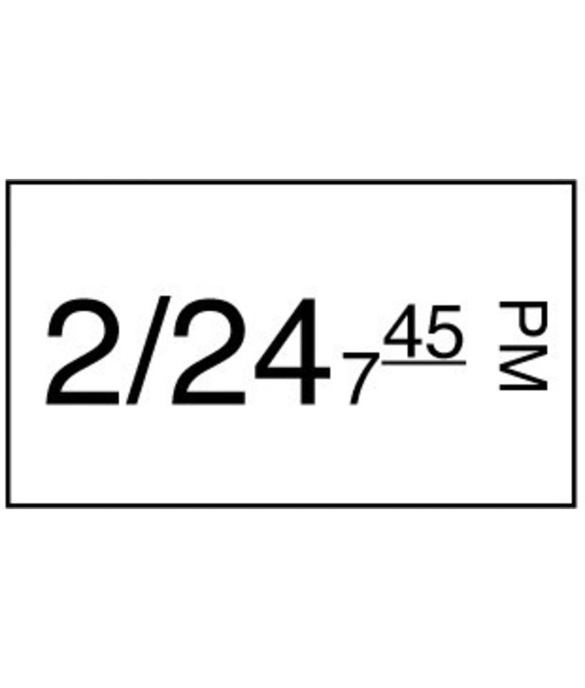 Daymark Stickerrol 1-lijnspistool permanent 1000/rol 8 stuk(s)