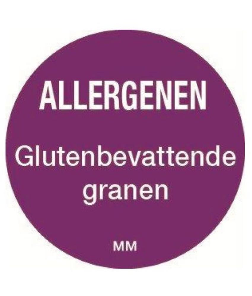 Daymark Allergie granen sticker rond 25 mm 1000/rol        1 stuk(s)