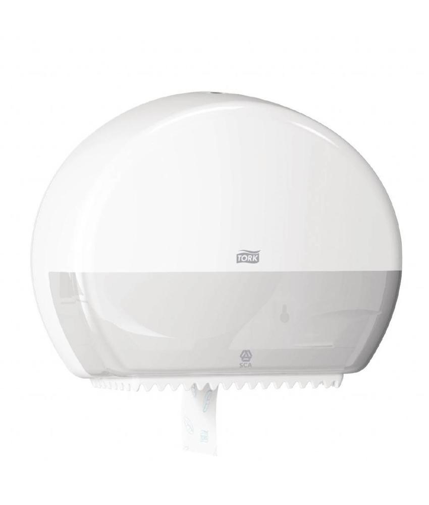 Tork Tork Mini Jumbo toiletroldispenser wit
