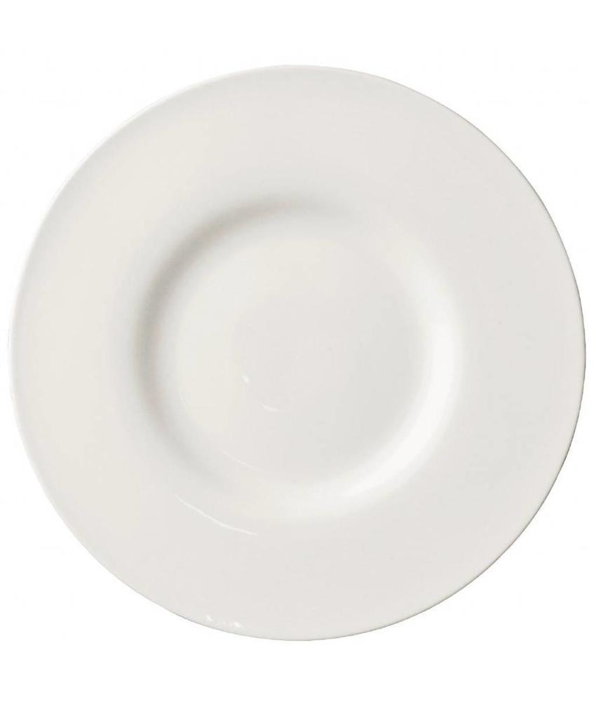 LUMINA Lumina bord met brede rand 28,5cm 4 stuks