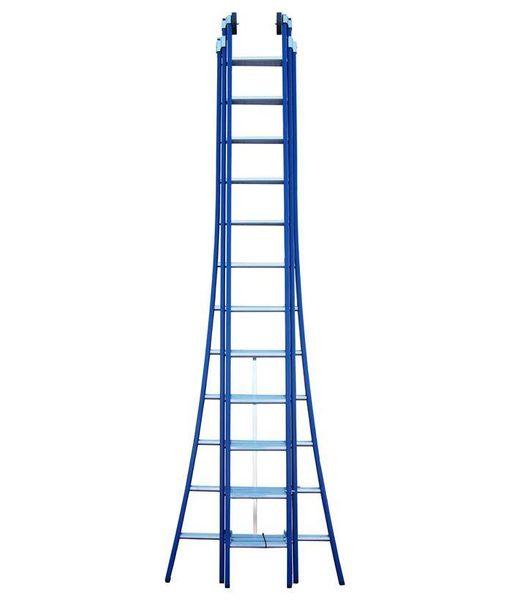 Driedelige ladder Premium 3x14