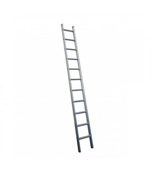 Enkele ladder 1x18 Maxall recht