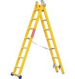 Kunststof ladder GVK 2x6 treden