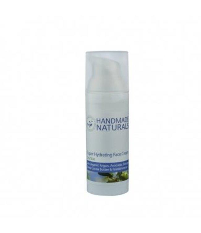 Handmade Naturals Gezichtscreme extra hydraterend - 50ml
