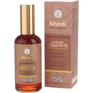 Khadi Anti-cellulitis olie 10 kruiden