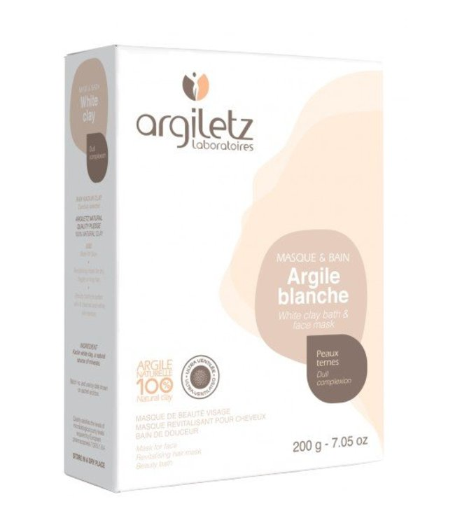 Argiletz Witte klei - 200 gram