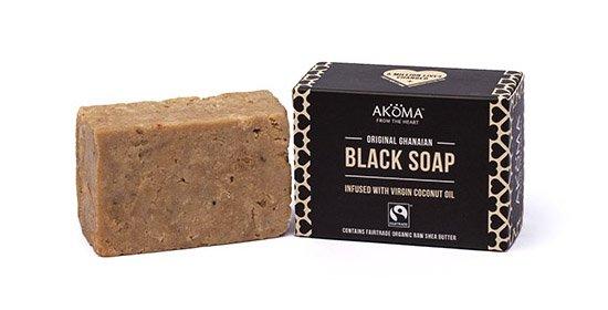 Afrikaanse zwarte zeep