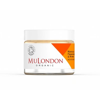 MuLondon Marigold, Frankincense & Myrrh Moisturiser - 60ml