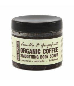 Living Naturally Vanilla & Grapefruit Coffee Scrub