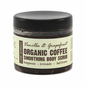 Living Naturally Koffie Scrub