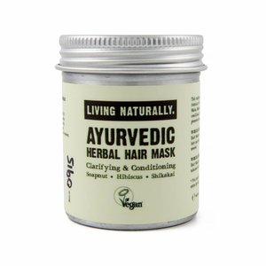 Living Naturally Ayurvedic Herbal Powder Hair Mask