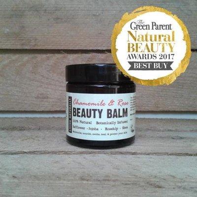 Living Naturally Chamomile & Rose Beauty Balm Moisturiser - 60ml