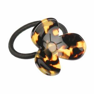 Haarelastiek Amber flower