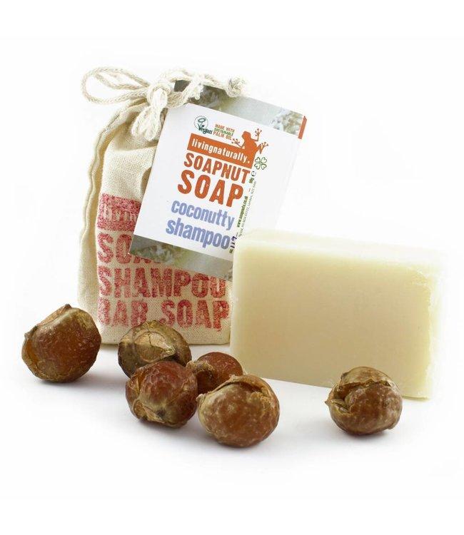 Living Naturally Bay Laurel Castile Soapnut Soap - 90g