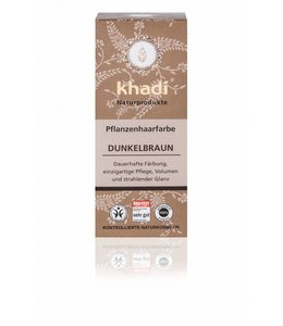 Khadi Haarverf donkerbruin