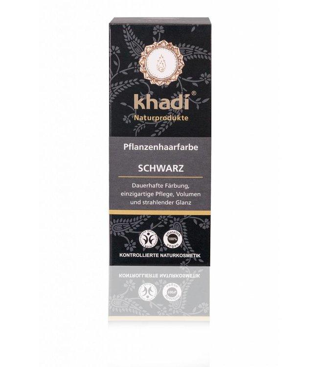Khadi Haarverf zwart