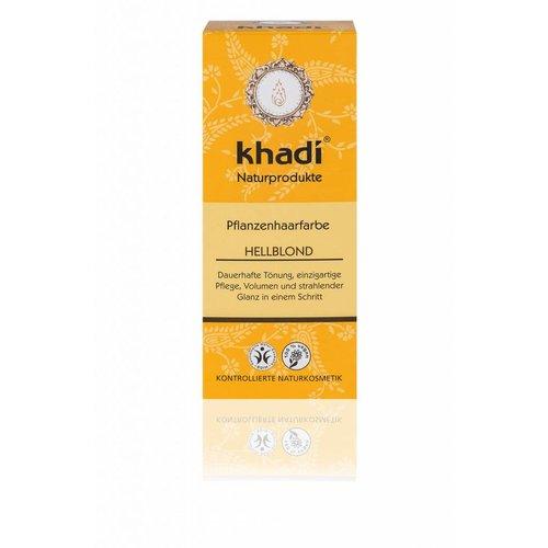 Khadi Haarverf licht blond