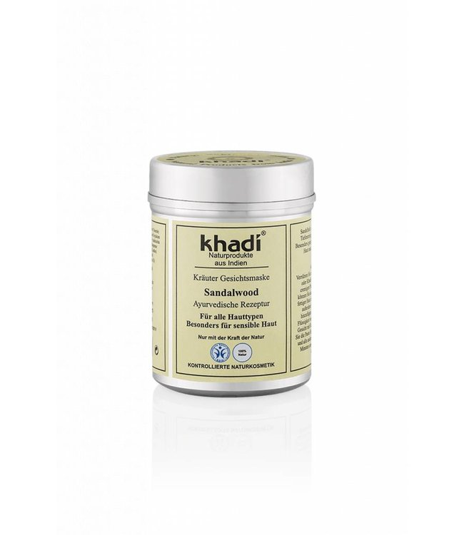 Khadi Gezichtsmasker Sandelhout