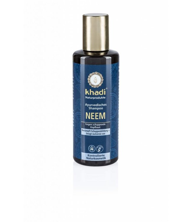 Khadi Neem shampoo - natuurlijke shampoo tegen roos - 210ml