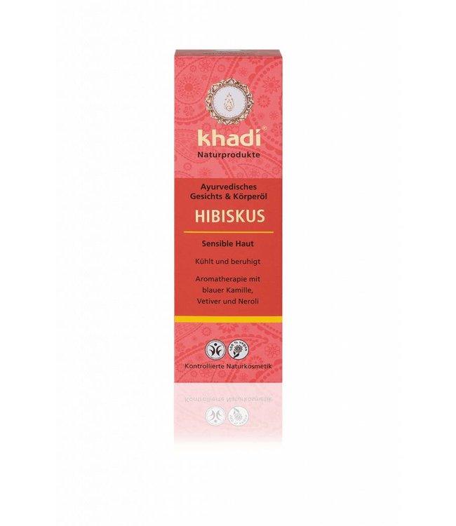 Khadi Huidolie hibiscus - 100ml