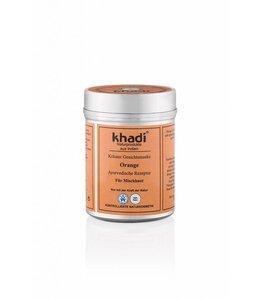 Khadi Gezichtsmasker Orange