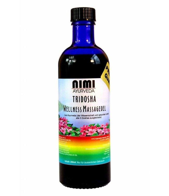 Nimi ayurveda Tridosha Tanumardan Wellness olie 200ml