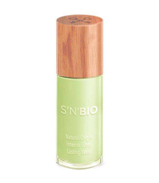 S'N'BIO Vegan nagellak - Aloe Pastel Groen