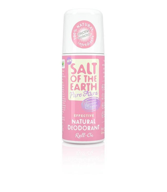 Salt of the earth Deodorant roller Pure aura