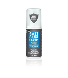 Salt of the earth Deodorant spray Pure Armour Mannen