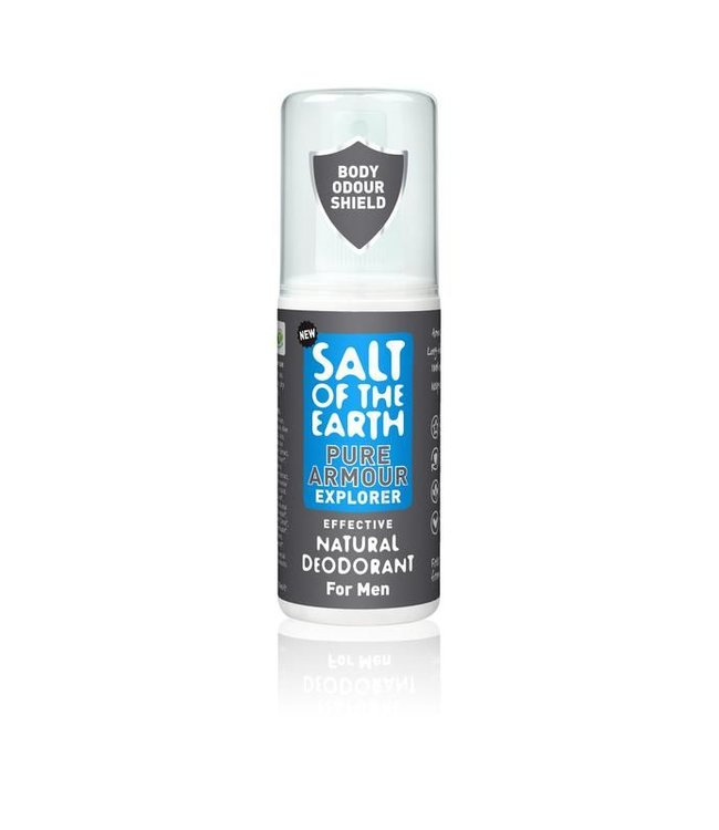 Salt of the earth Deodorant spray Pure Armour Mannen - 100ml