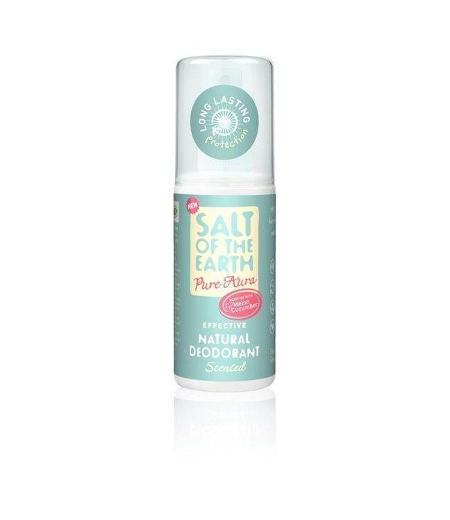Salt of the earth Deodorant spray melon & cucumber