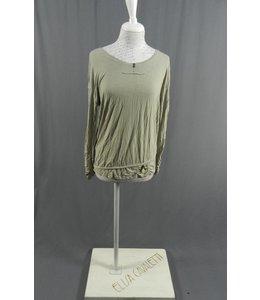 Elisa Cavaletti Basic-Shirt silbergrau
