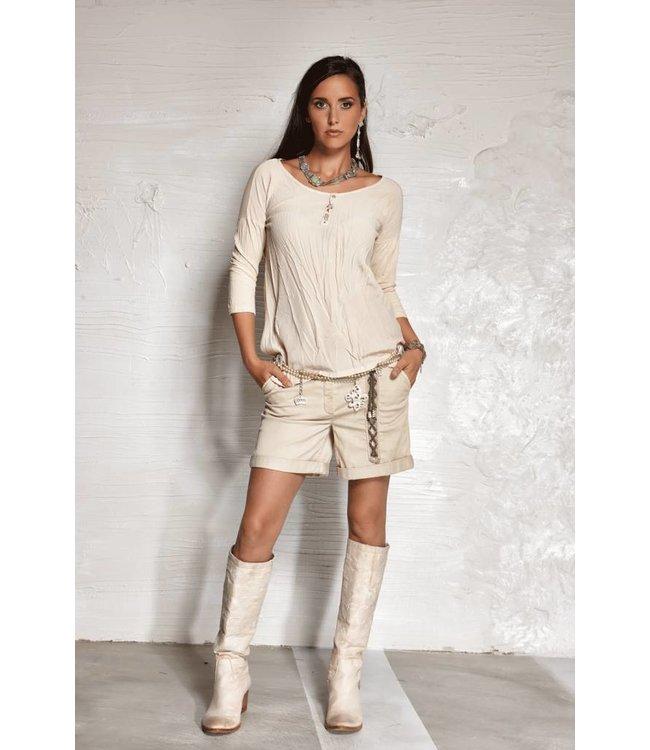 Elisa Cavaletti Shorts beige