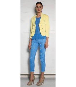 Eleonora Cavaletti 7/8 Jeans blau