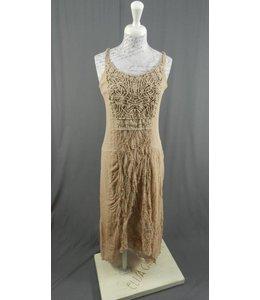 Elisa Cavaletti Longue robe vieux rose