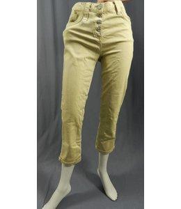 Elisa Cavaletti jean marbré jaune et gris