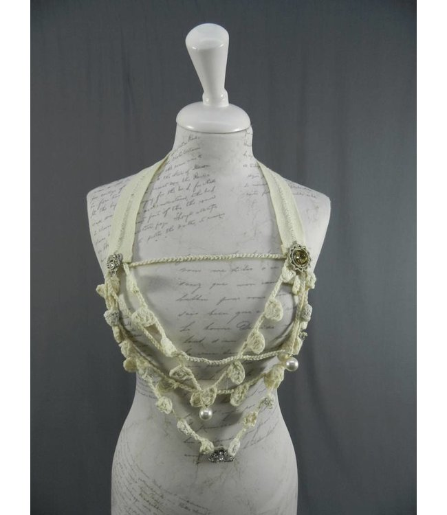 Elisa Cavaletti collier crocheté