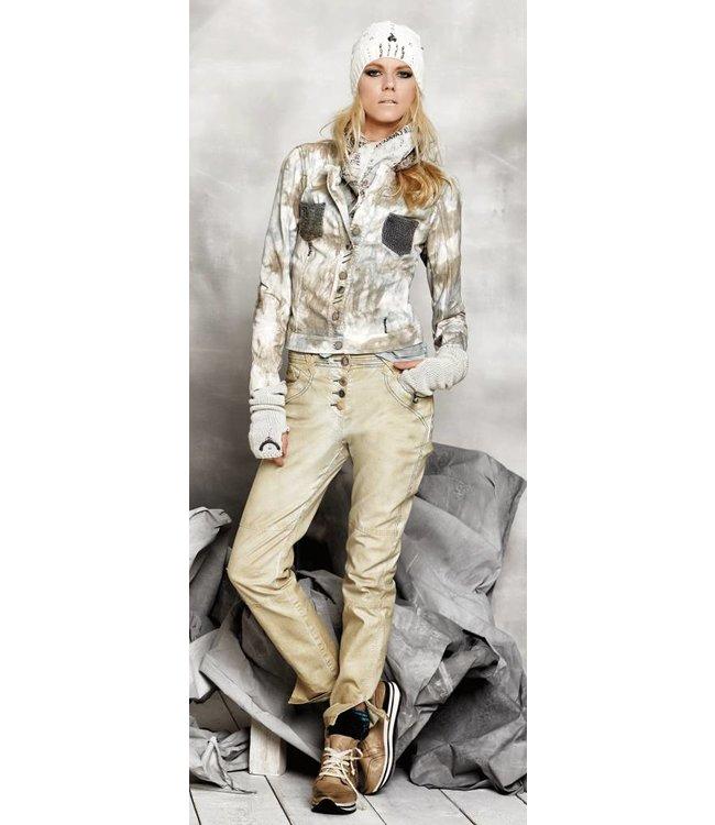 Elisa Cavaletti Jeans golden verwaschen