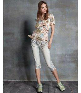 Elisa Cavaletti T-Shirt mit Rosenprint